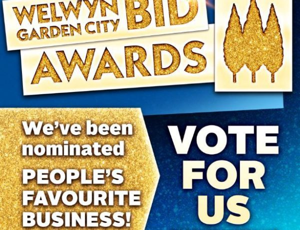 HRJ Foreman Laws, Awards, Vote for us in the Welwyn Garden City BID Awards 2018